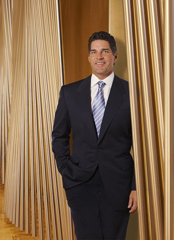 Bill McBeath, president and COO of Aria Resort Hotel and Casino