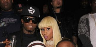 Birdman, Lil Wayne, Nicki Minaj and Mack Maine at TAO Las Vegas