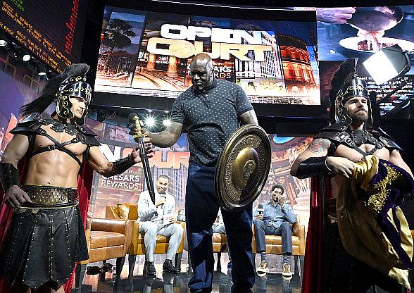 Shaquille O'Neal, Reggie Miller and Chris Webber Join Live Taping of Open Court: NBA Season Preview Presented by Caesars Rewards
