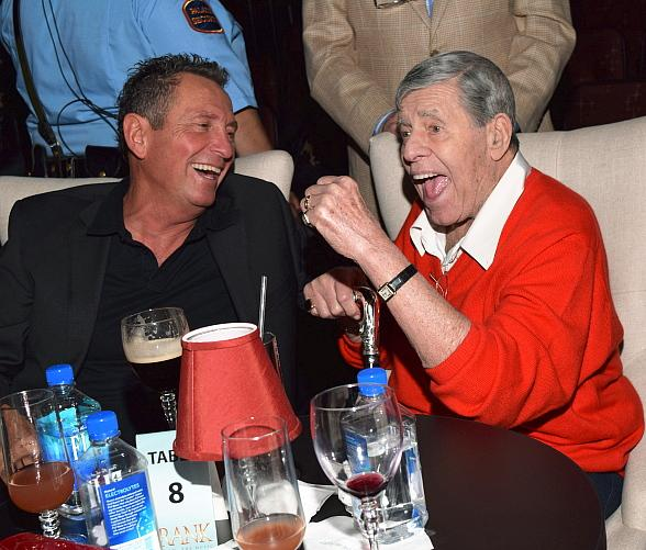 Jerry Lewis visits