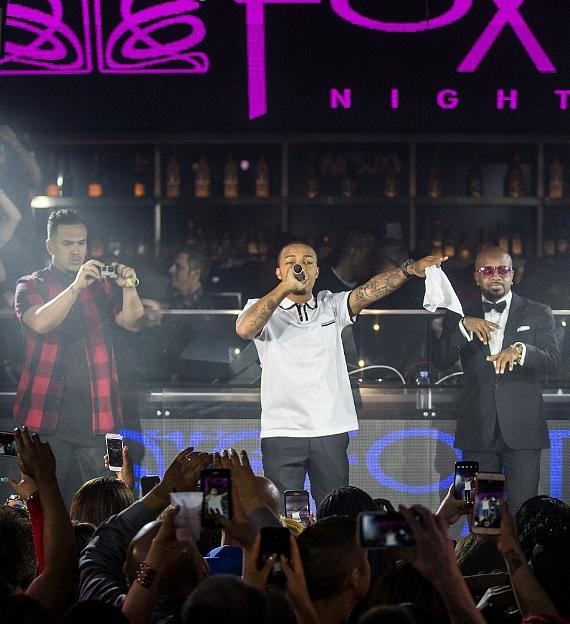 Bow Wow performs at Foxtail