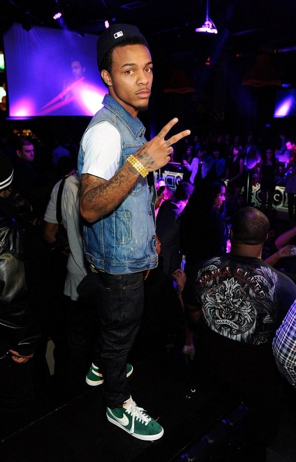 Bow Wow gets ready to perform at Chateau Nightclub & Gardens