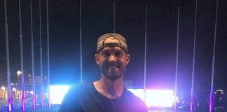 Country Singer Brett Young Visits Topgolf Las Vegas