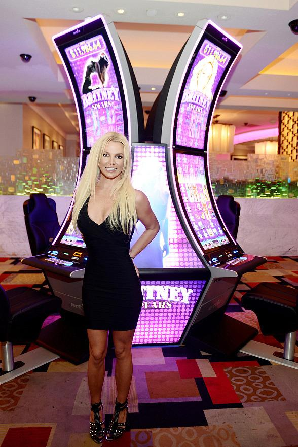 Britney Spears Premieres Aristocrat's Britney Spears Slot Game at Planet Hollywood Resort & Casino