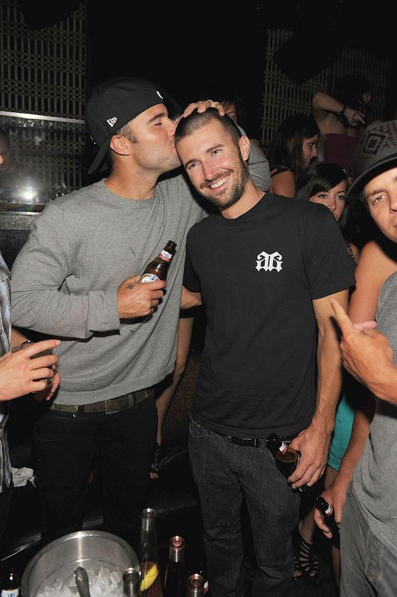 Brody and Brandon Jenner at LAVO