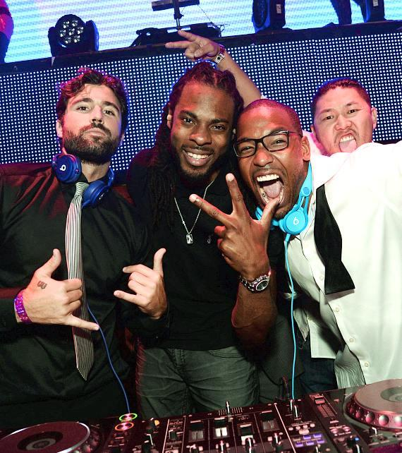 Brody Jenner, Richard Sherman and William Lifestyle at TA