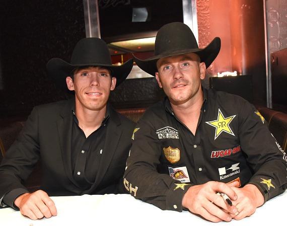 Bryan Titman and Shane Proctor at the PBR Official Launch Party at LAX Nightclub