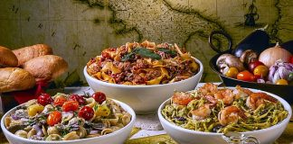 October Is World Pasta Month! Celebrate at Buca Di Beppo in Las Vegas