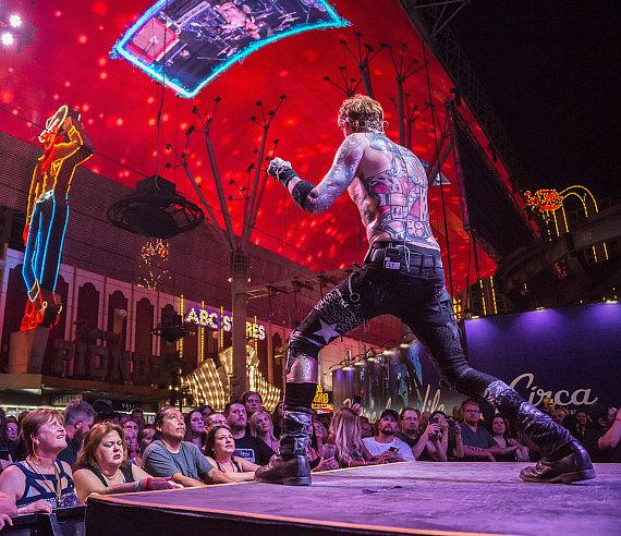 Buckcherry delivers high-powered performance at Fremont Street Experience