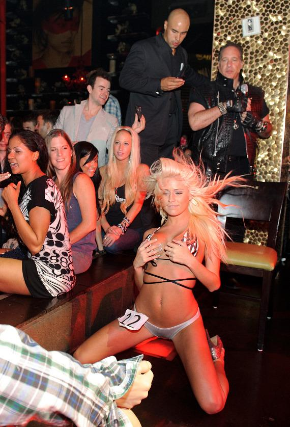 Bump n' Grind Contest at TAO