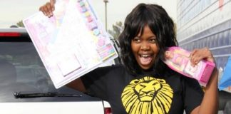 Buyi Zama of The Lion King at KLUC Toy Drive
