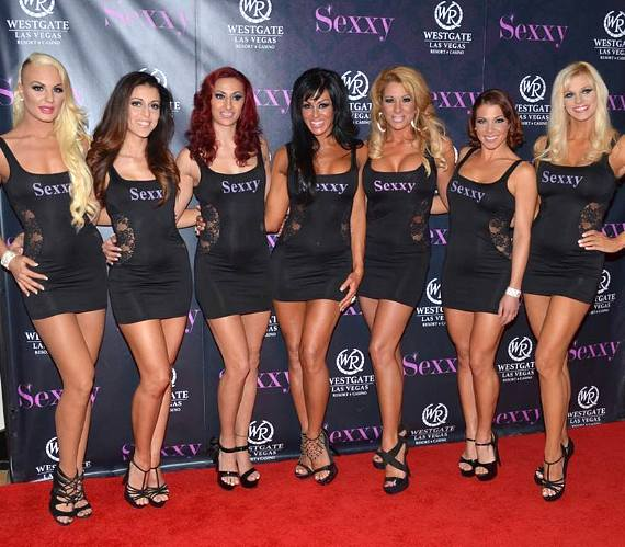 Cast of SEXXY at the Westgate Las Vegas Resort & Casino