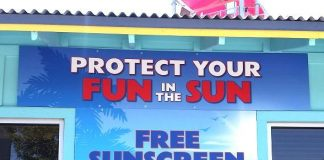 Wet'n'Wild and Comprehensive Cancer Centers of Nevada offer FREE Sunscreen to all Guests