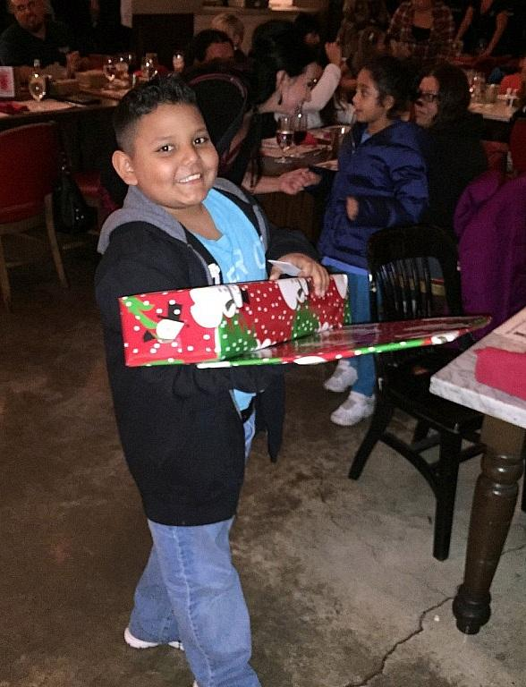 Communities in Schools of Nevada Elementary Students and Families Receive Holiday Dinner from Todd English P.U.B. and Gifts from The Shops at Crystals