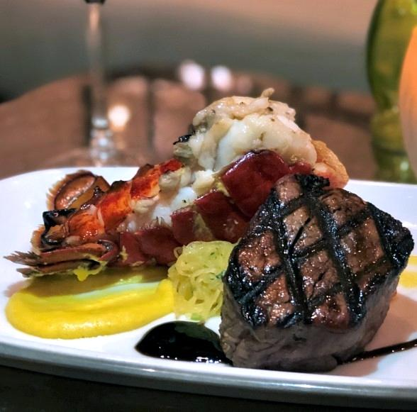 Dive in to 2020 at CRUSH with Surf and Turf this New Year's Eve