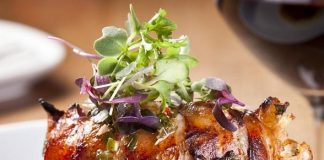 Crush inside MGM Grand Introduces New Menu Selections from Garden, Land and Sea
