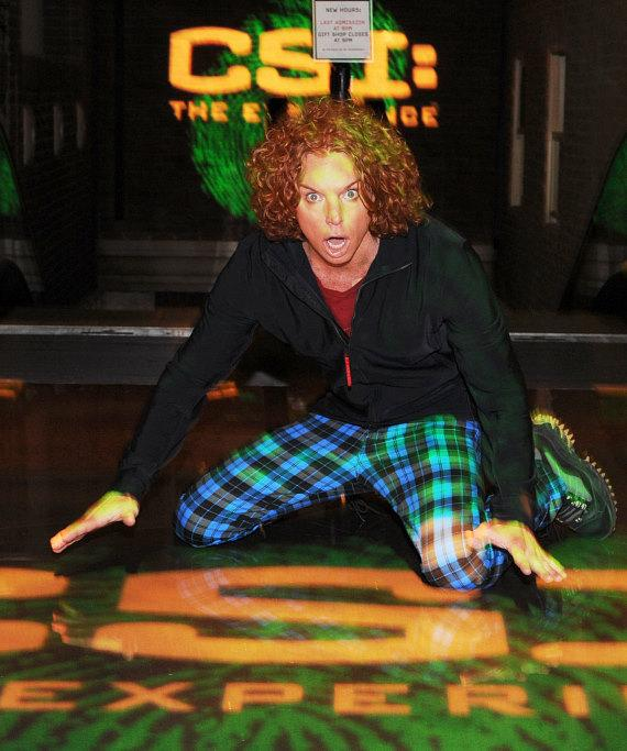 Carrot Top at CSI: The Experience at MGM Grand
