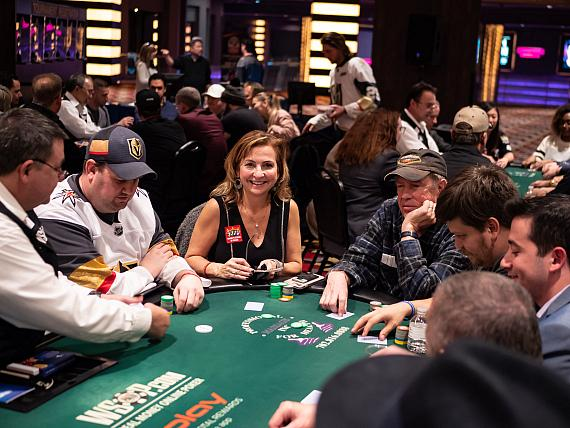 Charity Series of Poker (CSOP) Knights of the Poker Table Raises Over $94K for Golden Knights Foundation