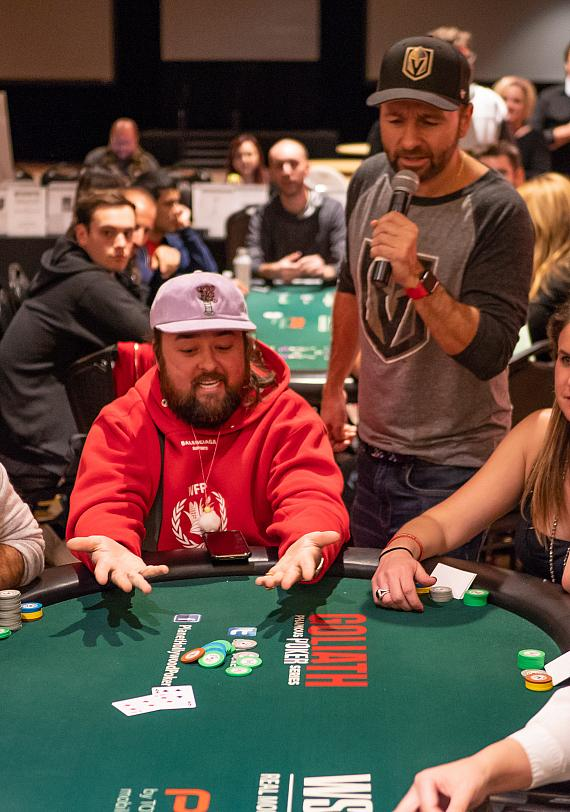 """TV Celebrity Austin """"Chumlee"""" Russell seems to be low on chips"""