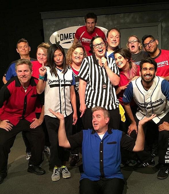 """Improvisational Comedy Competition Debuts at The Space; """"ComedySportz"""" Joins The Space Line-Up Sept. 21, Oct. 6 and 20 with Improv Classes Sept. 18-Nov. 7"""
