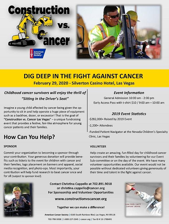 Construction vs. Cancer Event