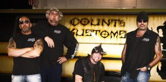 Danny (r) and the crew from Count's Kustoms