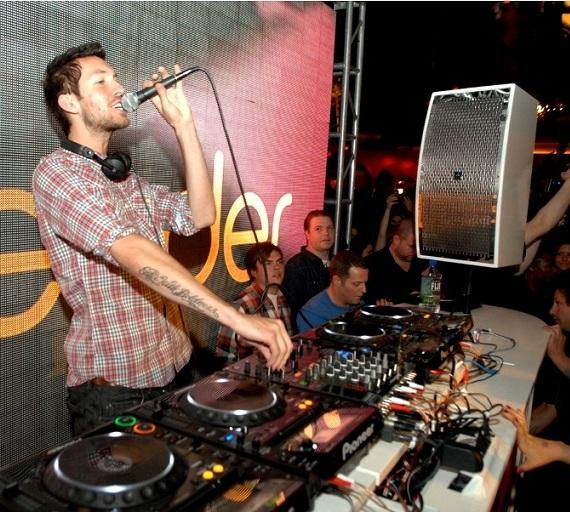 Calvin Harris at Surrender Nightclub