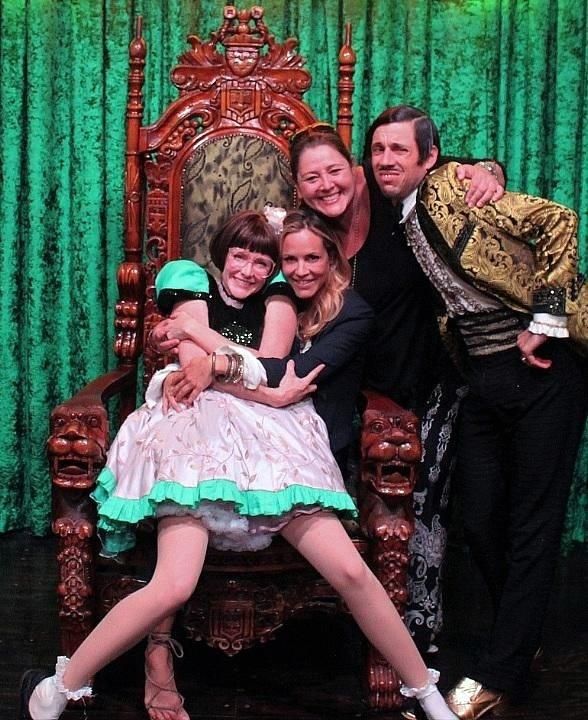 Actresses Camryn Manheim and Maria Bello Attend ABSINTHE at Caesars Palace
