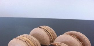 Candy Bar Macarons from Gimme Some Sugar
