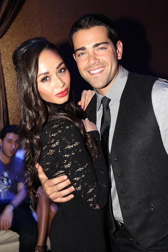 Cara Santana and Jesse Metcalfe at Vanity Nightclub