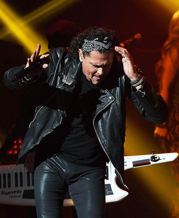 Latin Superstar Carlos Vives performs inside Palms Casino Resort in Las Vegas
