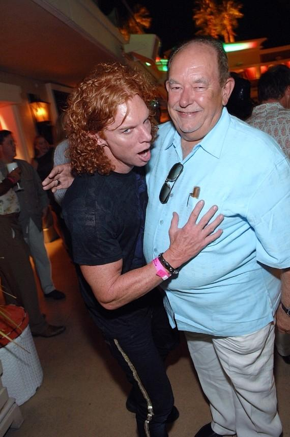 Robin Leach at Surrender Nightclub
