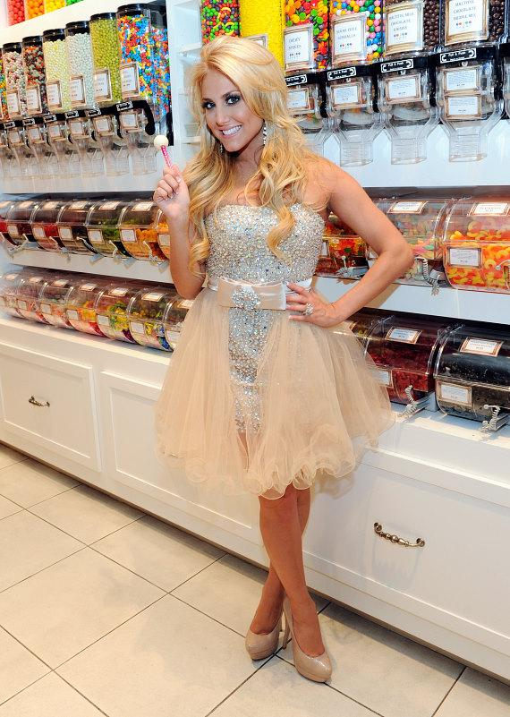 Cassie Scerbo with Couture Pop at Sugar Factory