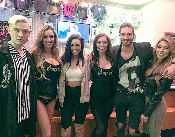 Scheana Shay and Chester Lockhart of