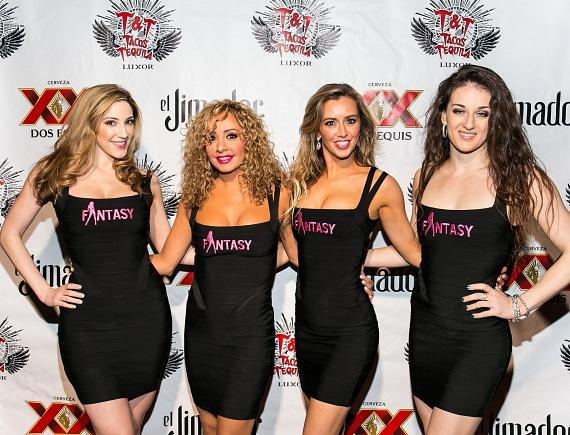 Cast of FANTASY on the red carpet at Tacos and Tequila