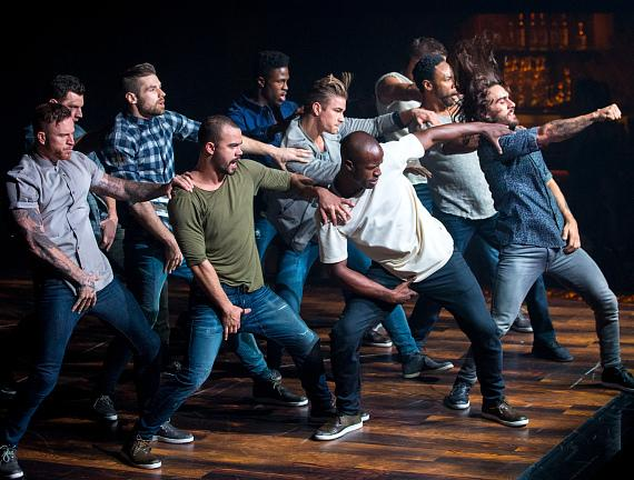 Cast of MAGIC MIKE LIVE LAS VEGAS Performs at Hard Rock Hotel & Casino