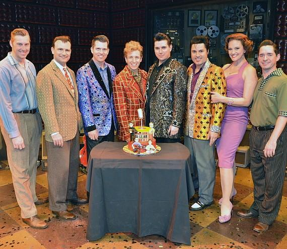Cast of MILLION DOLLAR QUARTET Las Vegas Celebrates 59th Anniversary of that Legendary Night 12.4.15 at Harrah's Las Vegas
