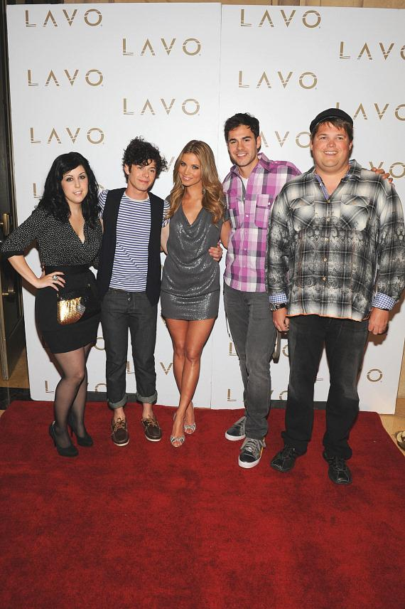 Amber Lancaster at LAVO