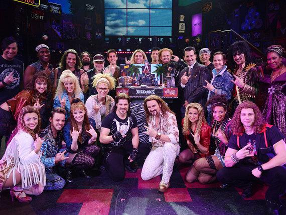 """""""Rock of Ages"""" Celebrates Radical Second Anniversary at The Venetian Las Vegas"""