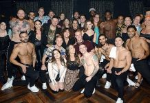 """Broadway Cast of """"Wicked"""" Attends """"Magic Mike Live"""" at Hard Rock Hotel & Casino"""