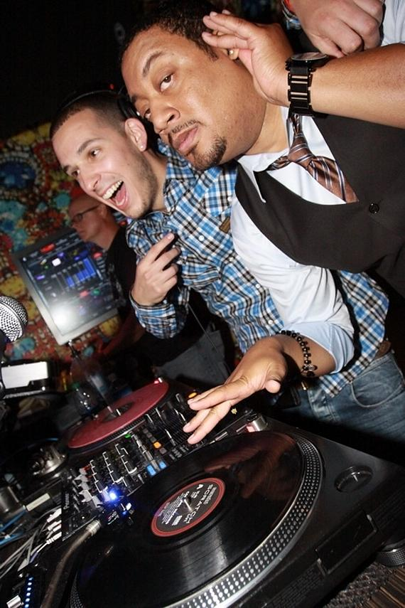 Eric DLux and Cedric Yarbrough