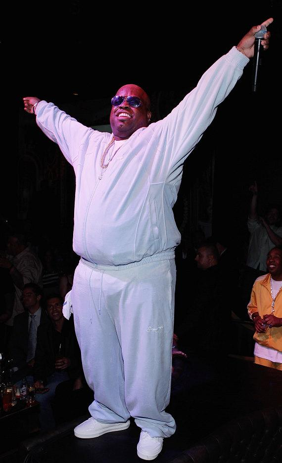 CeeLo Green performing at Gallery nightclub at Planet Hollywood Resort & Casino
