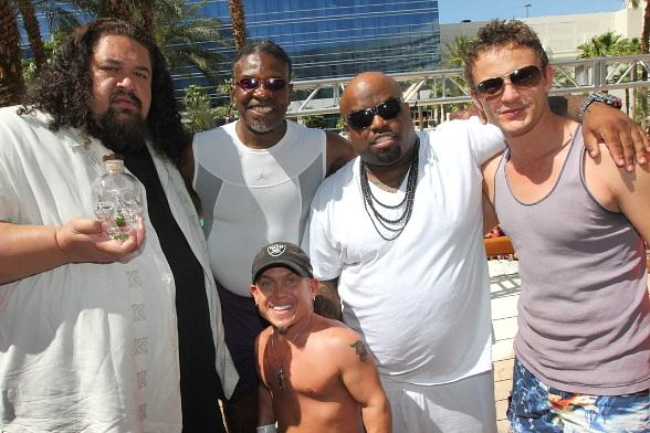 Cee Lo and friends at REHAB