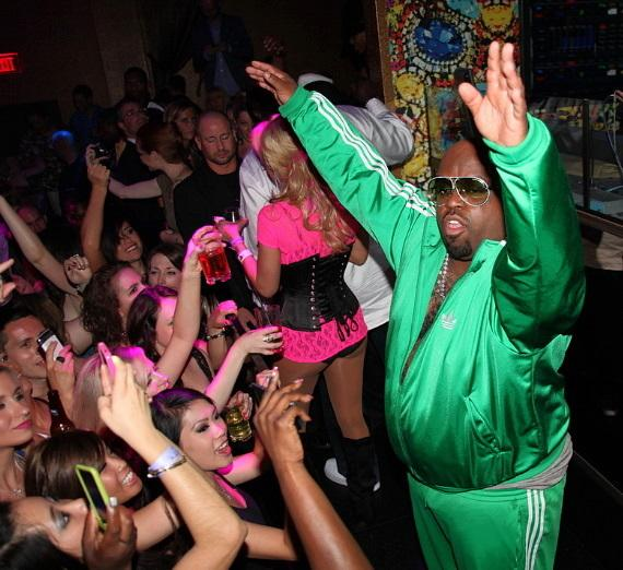 Cee Lo performs at REHAB