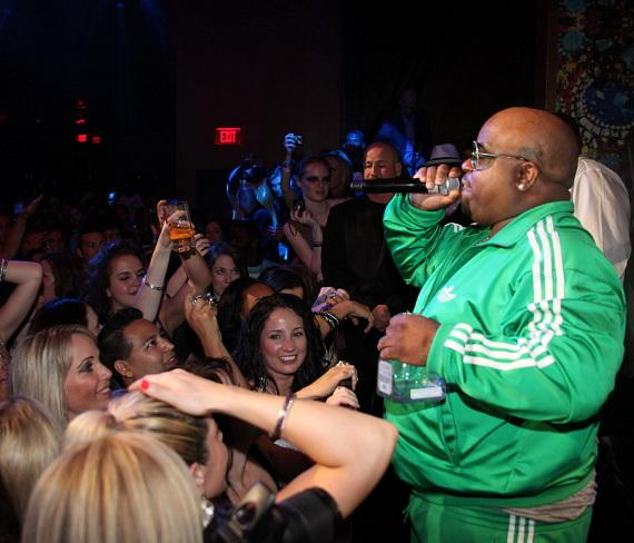Cee Lo performs at Vanity