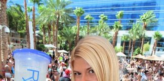 Chanel West Coast performs at Sunday Rehab Pool Party