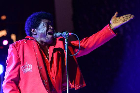 Charles Bradley and His Extraordinaires perform at the Boulevard Pool at The Cosmopolitan of Las Vegas