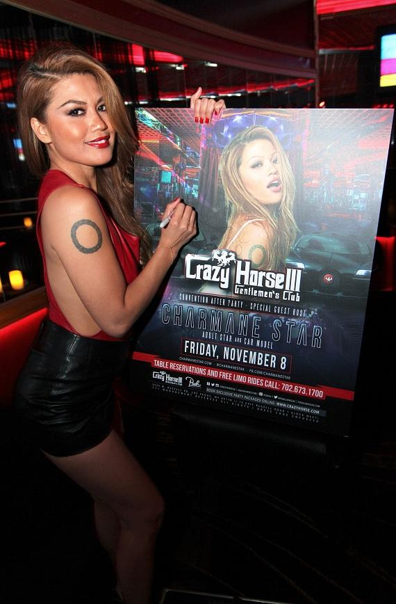 Charmane Star Signing Poster