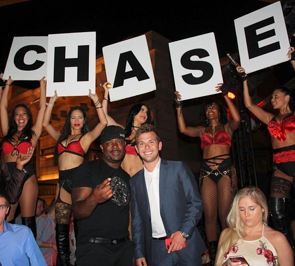 Reality TV star Chase Chrisley Celebrates 21st Birthday at Chateau Nightclub & Rooftop in Las Vegas
