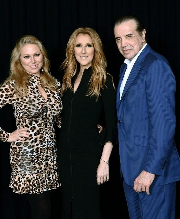 """Actor Chazz Palminteri attends """"Celine"""" at The Colosseum at Caesars Palace"""